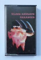 Paranoid by Black Sabbath (Cassette, 1976 reissue) NEC 6003 Irish Import