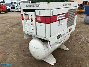 Gardner Denver Electra-screw air compressor, 120gal tank 200psi, 3 phase, 20hp