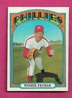 1972 TOPPS # 357 PHILLIES WOODIE FRYMAN NRMT-MT CARD (INV# C1254)