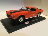 Chevrolet Camaro 1971 -Orange - Die Cast Maisto Special Edition 1:18 scale