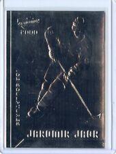 Jaromir Jagr - 1999-00 Revolution Ice Sculptures  #10 - Penguins