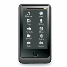 HOTT 8GB Touchscreen MP3 Music Player with Camera, FM Radio and Speaker - Black