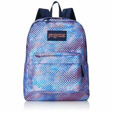 Jansport Backpack Superbreak Optical Clouds Skate School Travel Bag