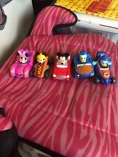 Disney Jr Mickey Roadster Racers Lot Diecast Metal Lot Of 5