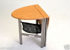 Collapsible Folding RV Motorhome Coffee Table NEW OAK!!