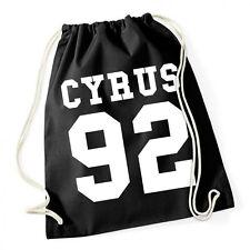 Cyrus 92 gymsack Black turnbeutel Miley Selena Justin gómez Bieber Katy Perry RI