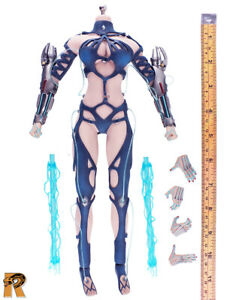 Tricity Goddess of Lightning - Full Body Set - 1/6 Scale - Phicen Action Figures