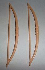 25820 Arco largo beige 2u playmobil,bow,medieval,arquero,archer