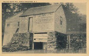 NORTH KINGSTOWN RI – The Old Snuff Mill