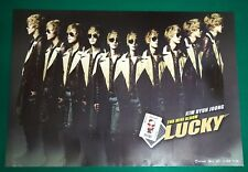 Kim Hyun Joong ( SS501 ) - Lucky B Type Official Poster Hard Tube Case NEW