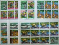 R.GUINEE-  Fables, Animals-6Full Sheets(10 Sets)- MNH**,RG 42B