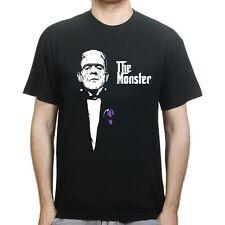 The Monster Frankenstein God father Halloween T-shirt P985