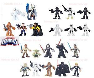 """Playskool Star Wars Galactic Heroes 2.5"""" Action Figures - Choose One"""