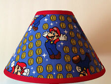 Super Mario Coin Toss Custom Fabric Children's Lamp Shade