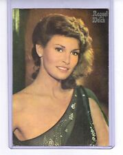 Raquel Welch vintage film postcard foreign issue unused
