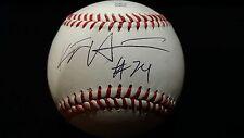 KJ Harrison 2017 cws Grand Slam autographed baseball