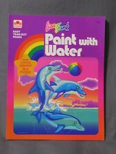 New Vintage Lisa Frank Paint with Water by Golden Books 1993 Dolphin~Seal~Ocean