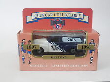 MATCHBOX 1/64  AFL CENTENARY CLUB CAR COLLECTABLE  GEELONG CATS FJ HOLDEN