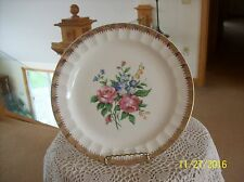 The Cronin China Co.Vintage Spring Floral Spray Porcelain Dinner Plate