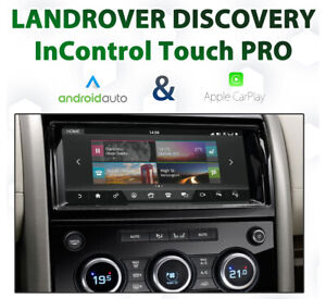 Land Rover Discovery 5 Apple CarPlay & Android Auto Integration