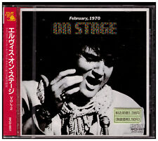 Elvis Presley - On Stage February 1970 CD Japan RPCD 1007 SEALED OBI