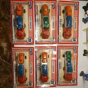 Vintage Barclay scarce Two car transport in original packaging lot of 6💥💥💥💥