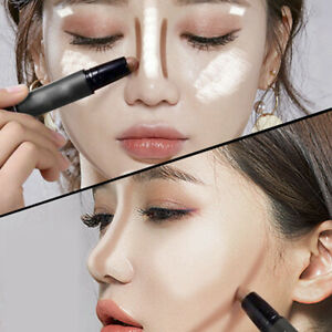 Concealer Cream Brighten Contour Stick Double-End Pen Foundation Bases Makeup