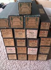 PLAYER PIANO ROLLS QRS, UNITED STATES MUSIC CO MIXED LOT OF 22