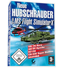 Nueva arderemos helicóptero MS Flight Simulator X-add on