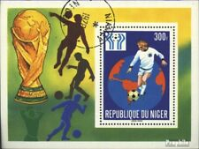 Niger block20 (complete issue) used 1978 football-WM ´78, Argen