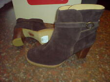 Clarks Suede Strappy, Ankle Straps Shoes for Women