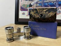 Swift Princess Catalog No. 726 Mother Of Pearl Opera Glasses w/ Box & Case Japan
