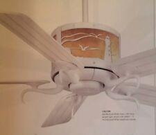 """NEW Casablanca """"seacoast"""" ceiling fan, tropical style fan."""