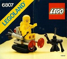 @@@ LEGO Classic Space 6807 - Space Sledge with Astronaut and Robot