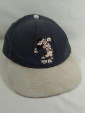 Mickey Mouse Hat Walt DISNEY World Golf Baseball Cap Leather Strapback Green