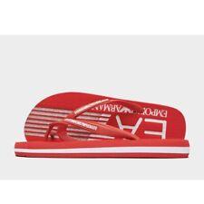 Authentic Emporio Armani EA7 Sea World Fila Flops ® ( Size UK 6.5 - 9.5 ) Red 🔥