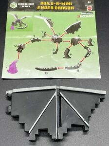"""Minecraft Minifigures ~ Build-a-Mini Ender Dragon """"Right Wing"""" (Piece 4)"""