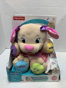 Fisher Price Laugh & Learn Love to Play Puppy Sis NEW learning singing