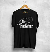 Fishing T Shirt The Rodfather Godfather Fish Grandad Father And Son  Gift