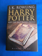 HARRY POTTER Half Blood Prince Adult H/C BOOK 2005 1st Edition Error Page 99