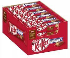 Kitkat Original Chunky Wrapped Chocolate Bar Kit Kat 40g x 36 Bars Case FULL BOX