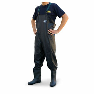 Lineaeffe PVC Chest Waders Sizes 7 8 9 10 11 Carp Coarse Fly Fishing Tackle
