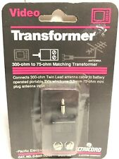 300-ohm to 75-ohm Match Transformer by Electricord