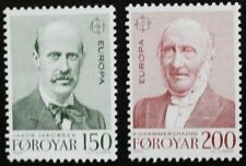 Europa stamps, 1980, Faroe Islands, SG ref: 52 & 53, 2 stamp set, MNH