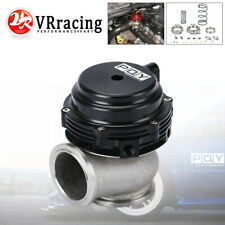 44MM V-BAND EXTERNAL WASTEGATE RED MV-R 44 Water/Air Cooled 14PSI Installed