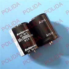 10PCS Electrolytic Capacitor Rubycon 30*41mm 10000UF50V/50V10000UF