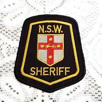 Australia NSW New South Wales Sheriff Police Patch Applique Crest Logo