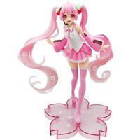 1PC Anime Hatsune Miku Pink Sakura Statue Figur Modell Spielzeug ogzlx eNwrg