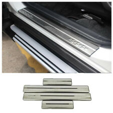 For Toyota RAV4 2016 2017 2018 enhancement door sill plate stainless steel