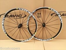 New Mavic Cosmic Elite Clincher Bike Triathlon 700c F&R Wheels Wheelset